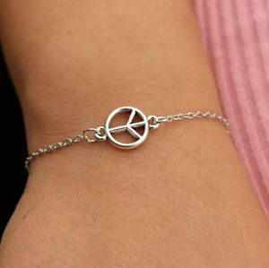 Jewelry - Just In! **Peace Sign Bracelet**